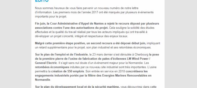 Découvrez le sixième numéro de la lettre d'information du projet