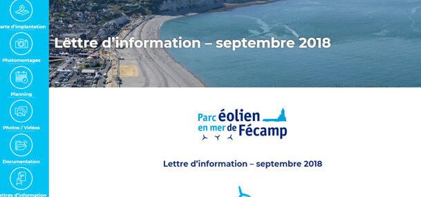 Lettre d'information - septembre 2018