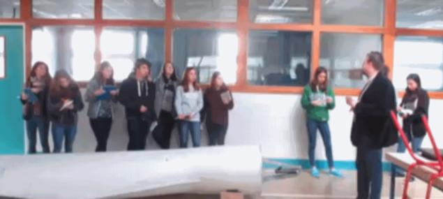 Une journée de découverte de l'éolien pour les élèves du lycée Francois 1er du Havre