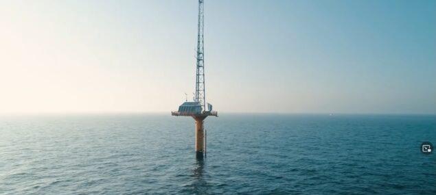 L'effet récif joue pleinement au pied du mât de mesures - Vidéo